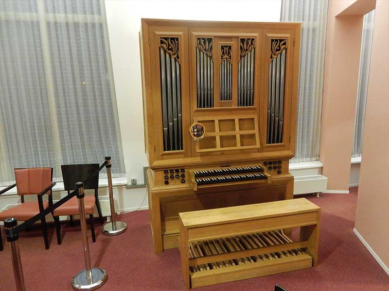 Orgel-in-onderhoud